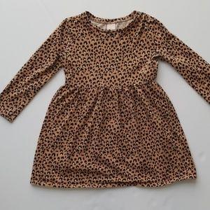 Girls Cheetah Print dress